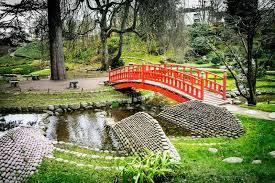 bridge garden zen stock photos