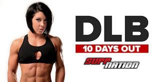 dana linn bailey 10 days out from the