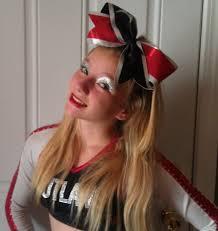 cheerleading hair and makeup ideas