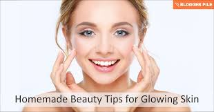 homemade beauty tips for glowing skin