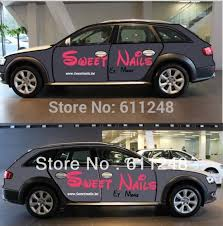 Diy Personalized Car Stickers Customed Body Text Ads Hood Stickers Car Body Advertising Stickers Sticker Iphone Stickers Airstickers Fiat Aliexpress