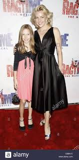 Lynette Perry and her daughter Opening night of the Broadway musical Stock  Photo - Alamy