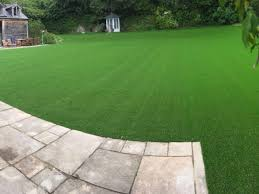 artificial grass garden installation