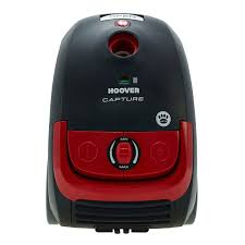 Hoover Capture Bagged Pets Cylinder Vacuum Cleaner Red Black Robert Dyas
