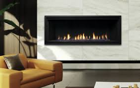 linear natural gas fireplace