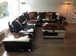 design sofa cowhide couches seats