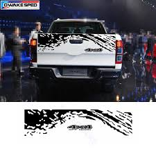 4x4 Off Road Vinyl Decal Car Styling Pickup Trunk Decor Sticker Auto Body Tail Customized Decals For Ford Ranger Car Stickers Aliexpress