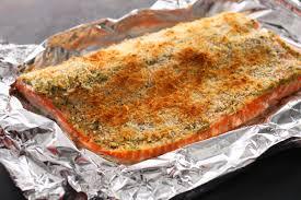 Easy Baked Breaded Salmon Recipe ...