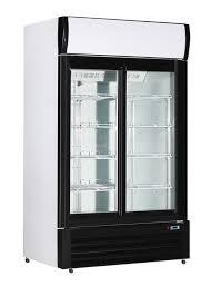 1200l glass door cooler merchandisers