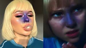 violet beauregarde makeup