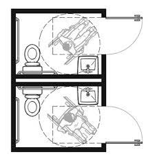 single user toilet room layouts