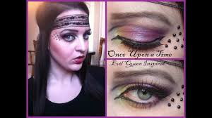 evil queen makeup once upon a time