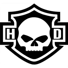 Harley Davidson Willie G Skull Decal Window Sticker For Sale Online Ebay