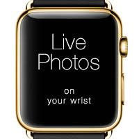 live photos as your apple watch face