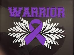 Amazon Com Purple Awareness Ribbon Warrior Window Decal Epilepsy Lupus Cystic Fibrosis Rett Syndrome Craniosynostosis Fibromyalgia Active Everything Else