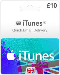 uk itunes gift cards instant email