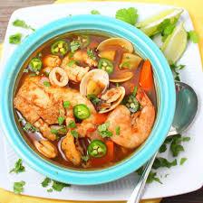 Caldo de Mariscos (Mexican Seafood Soup ...