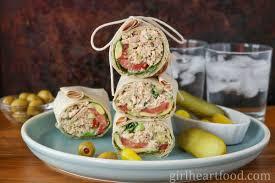 Tuna Salad with Greek Yogurt {on a wrap ...