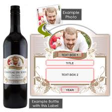 personalised birthday gift wine