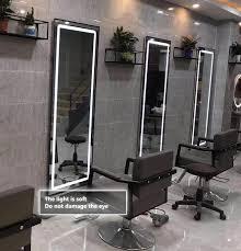 rectangle 4 sided led salon mirror