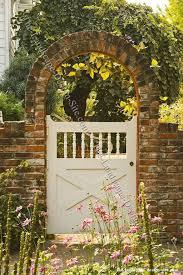 46 Stunning Rustic Garden Gates Ideas Trendehouse Garden Gate Design Wooden Garden Gate Brick Garden