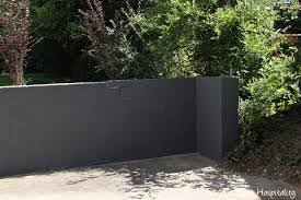 Image Result For Painted Concrete Retaining Wall Concrete Retaining Walls Painting Concrete Cinder Block Walls