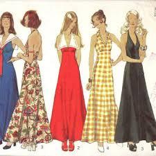 best 70s halter dress s on wanelo