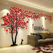 Acrylic Wall Stickers 3d Crystal Wall Decals Family Tree With Frames Small For Sale Online Ebay