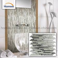 china white glitter wall mirror broken