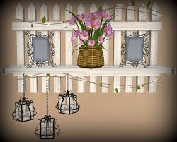 Second Life Marketplace Vp Picket Fence Shelf