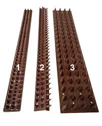 Fence Spikes Cat Possum Security Repelling Spikes 50cm Piece