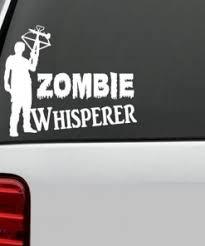Walking Dead Michonne Zombie Stickers Sticker Flare Llc