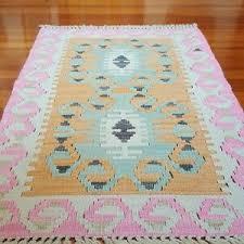 wool rug home decor kilim boho chic