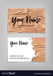 business card template royalty free vector