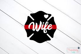 Firefighter Wife Decal Firefighter Wife Fire Wife Etsy Firefighter Mom Fire Wife Fire Mom