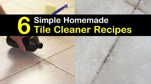 6 handy do it yourself tile cleaner