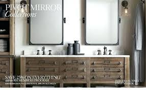 pivot bathroom mirror harperremodeling co