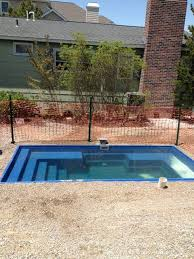 the palladium plunge pool installed and