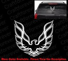 Firebird Car Window Phone Die Cut Vinyl Decal Sticker For Pontiac Racing Rc081 Ebay