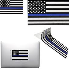 Rectangular Blue Lives Matter Police Usa American Thin Blue Line Flag Car Decal Sticker New Car Stickers Aliexpress