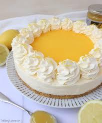 lemon curd cheesecake no bake the