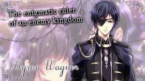 Otome Game. Midnight Cinderella the enigmatic ruler of an enemy kingdom Byron  Wagner
