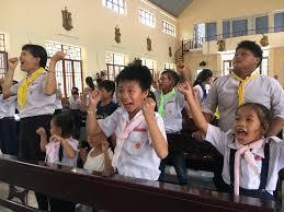 Thiếu Nhi Thánh Thể Giáo Xứ Bến Trường Vui Hè Cùng Giêsu