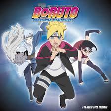 Boruto Naruto Next Gen Wall Calendar - Calendars.com
