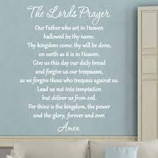 The Lords Prayer Bible Wall Art Vwaq