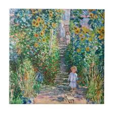 claude monet the artists garden at