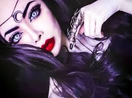 gothic makeup fantasy abstract