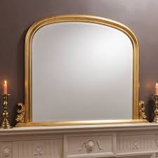 thornby gold over mantle mirror
