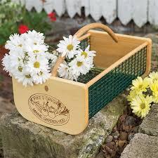 maine garden hod basket gardening