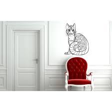 Shop Bengal Cat Breed Pet Wall Art Sticker Decal Overstock 11371416